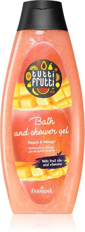 Farmona Tutti Frutti Peach & Mango gel de dus si baie