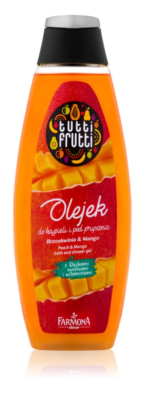 Farmona Tutti Frutti Peach & Mango sprchový a koupelový gel