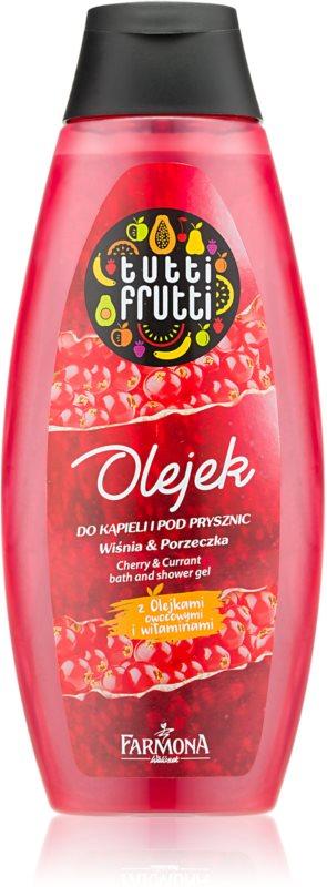 Farmona Tutti Frutti Cherry & Currant gel de dus si baie