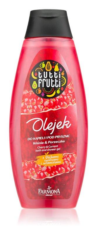 Farmona Tutti Frutti Cherry Currant żel Do Kąpieli I Pod Prysznic