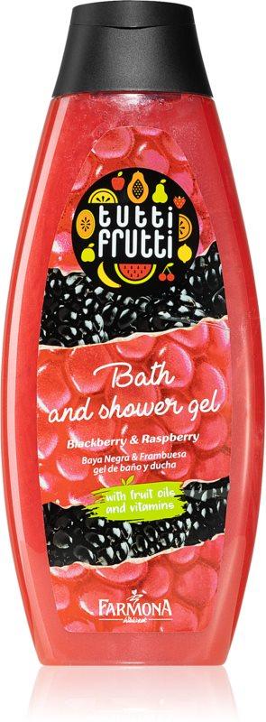 Farmona Tutti Frutti Blackberry & Raspberry olje za prhanje in kopel