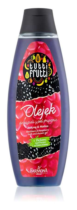 Farmona Tutti Frutti Blackberry & Raspberry ulei pentru baie si dus
