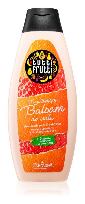 Farmona Tutti Frutti Orange & Strawberry hydratačné telové mlieko