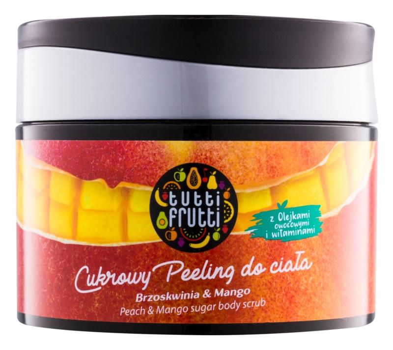 Farmona Tutti Frutti Peach & Mango sladkorni piling za telo