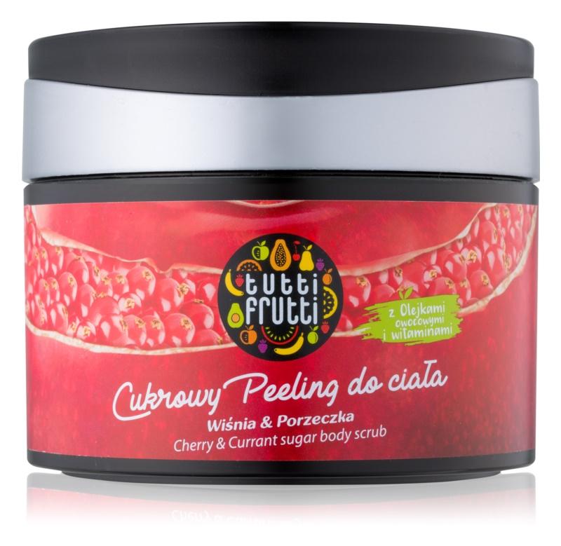 Farmona Tutti Frutti Cherry & Currant cukrový peeling na telo