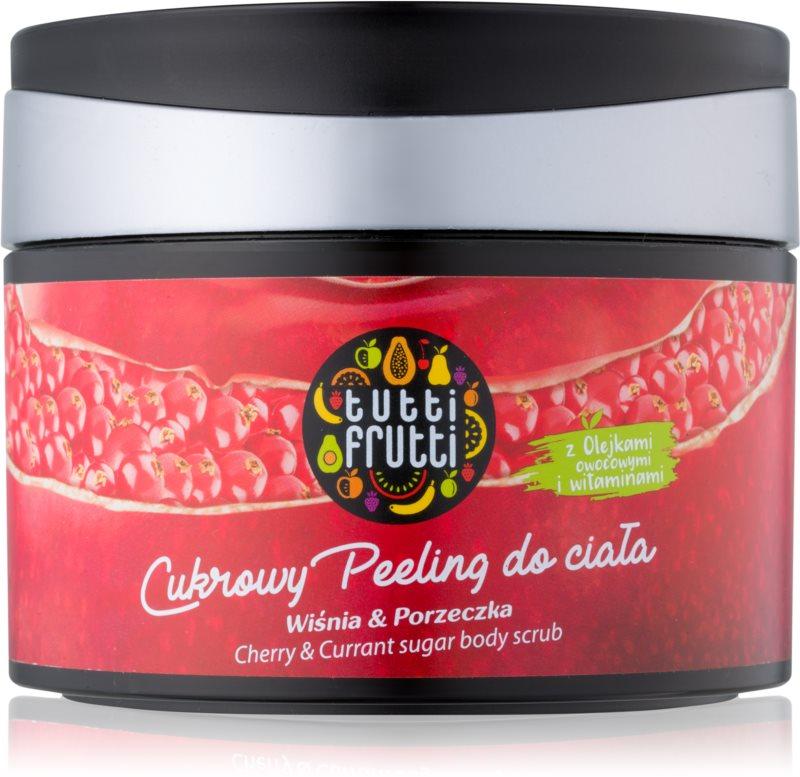 Farmona Tutti Frutti Cherry & Currant цукровий пілінг для тіла