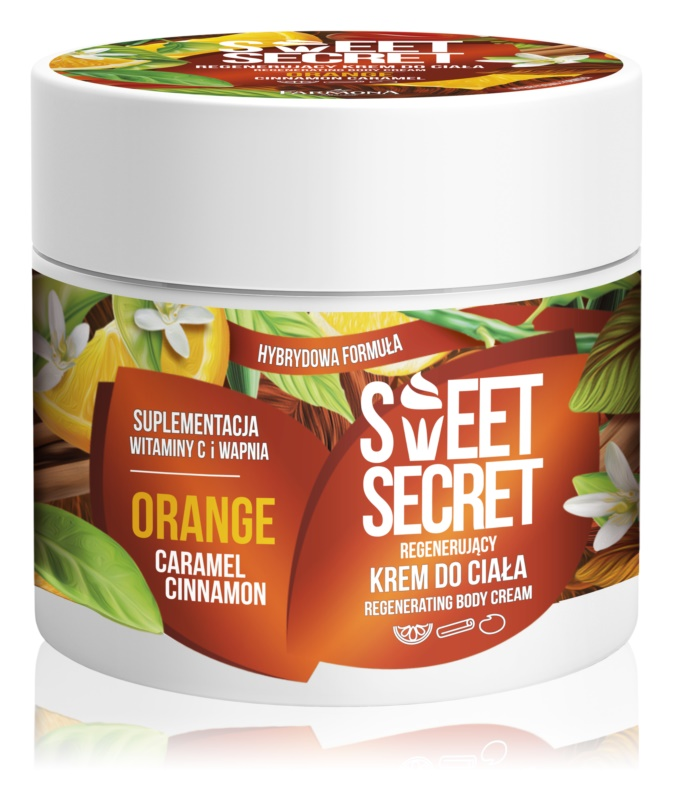 Farmona Sweet Secret Orange regeneračný telový krém