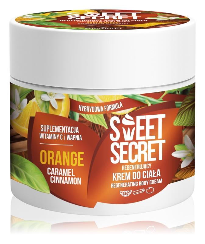 Farmona Sweet Secret Orange відновлюючий крем для тіла