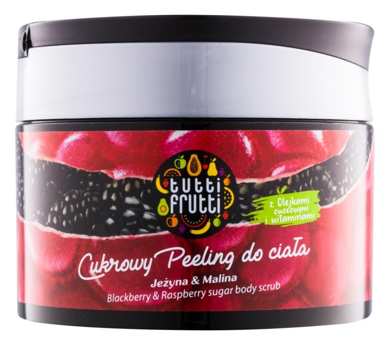Farmona Tutti Frutti Blackberry & Raspberry cukrový tělový peeling