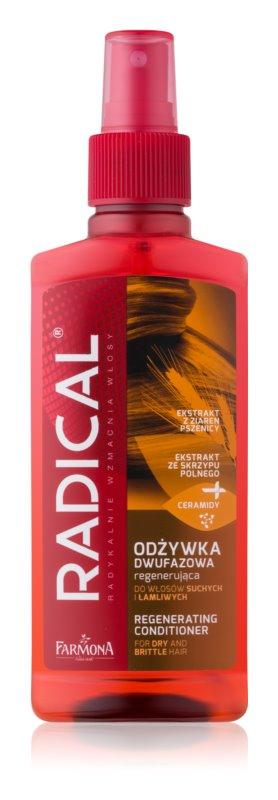Farmona Radical Dry & Brittle Hair 2-fázový bezoplachový kondicionér pre suché a slabé vlasy