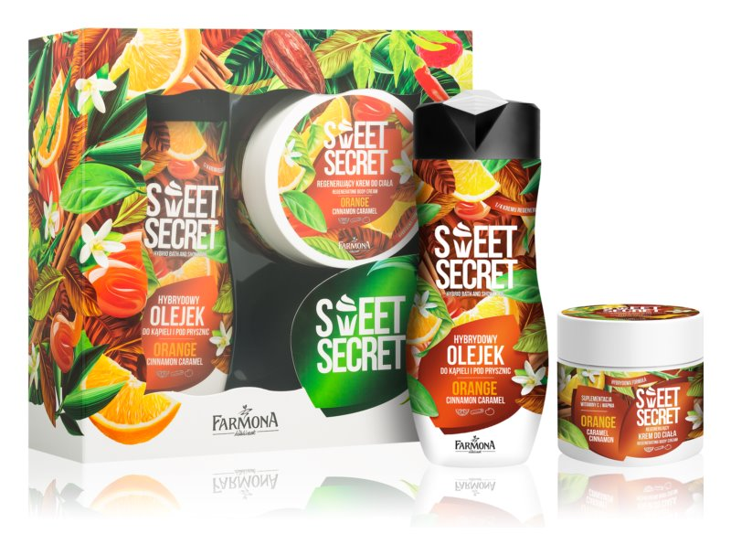 Farmona Sweet Secret Orange kosmetická sada