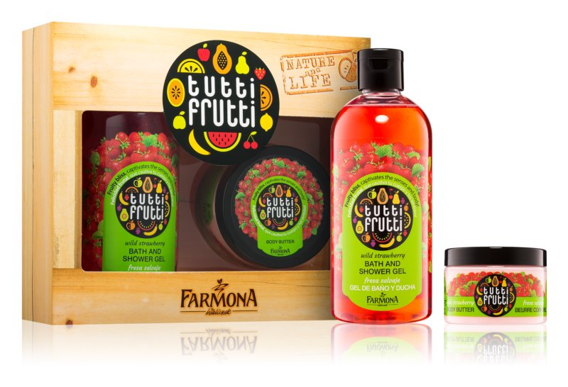 Farmona Tutti Frutti Wild Strawberry kozmetični set
