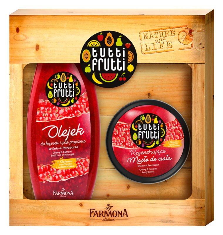 Farmona Tutti Frutti Cherry Currant Coffret Cadeau I Corps