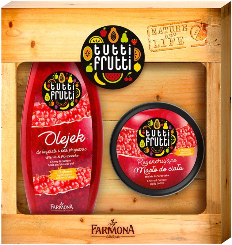 Farmona Tutti Frutti Cherry & Currant set cadou I. (pentru corp)