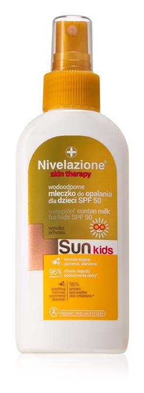 Farmona Nivelazione Sun vodeodolné mlieko na opaľovanie pre deti SPF 50