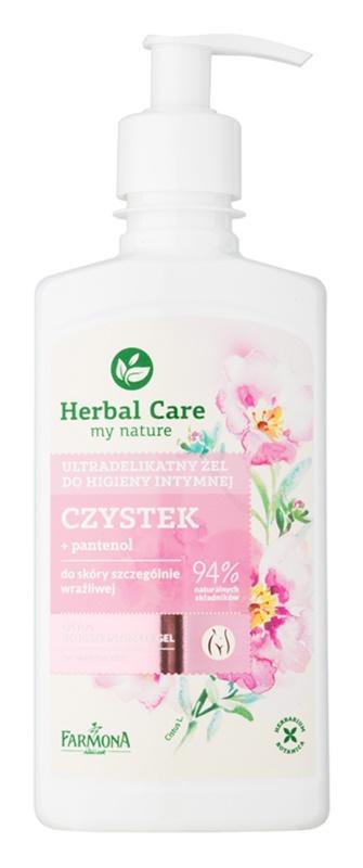 Farmona Herbal Care Cistus делікатний гель для інтимної гігієни для чутливої шкіри