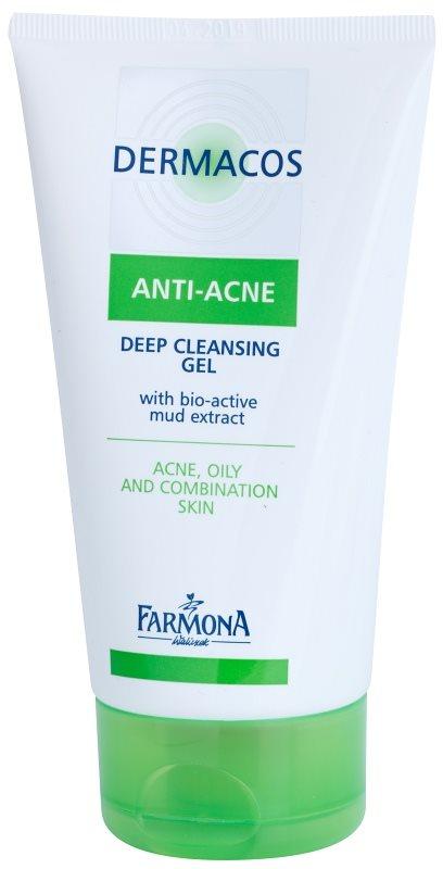 Farmona Dermacos Anti-Acne hĺbkovo čistiaci gél