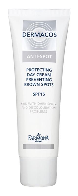Farmona Dermacos Anti-Spot crème de jour protectrice pour prévenir les taches pigmentaires SPF 15