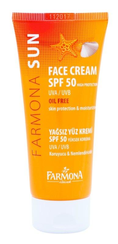 Farmona Sun crème protectrice pour peaux grasses et mixtes SPF 50