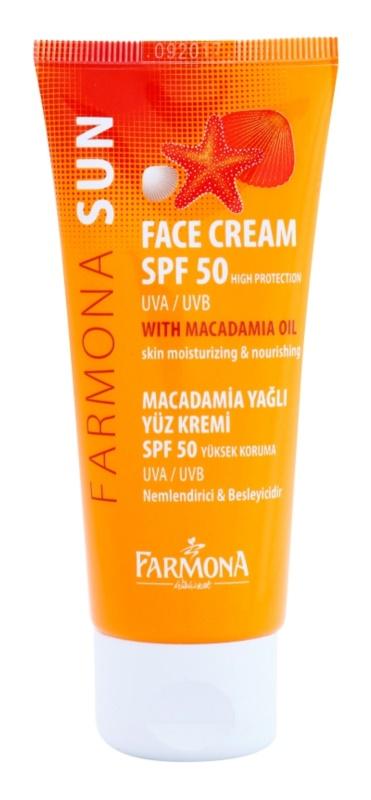 Farmona Sun ochranný krém pro normální a suchou pleť SPF50