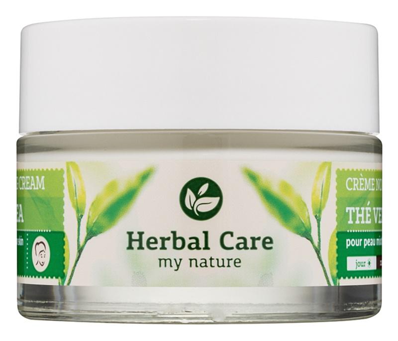 Farmona Herbal Care Green Tea normalizační a matující denní i noční krém pro mastnou a smíšenou pleť