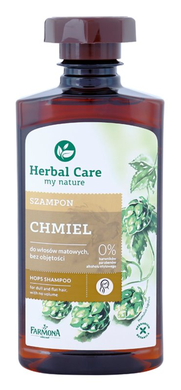 Farmona Herbal Care Hops Energising Shampoo For Hair Without Volume