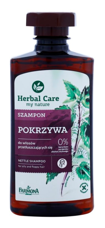 Farmona Herbal Care Nettle Shampoo  voor Vet Haar