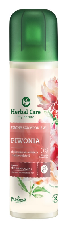 Farmona Herbal Care Peony champú en seco 2 en 1