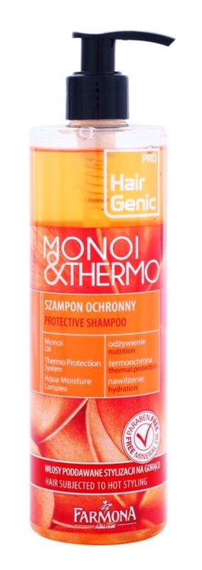 Farmona Hair Genic Monoi & Thermo Protective Shampoo For Heat Hairstyling