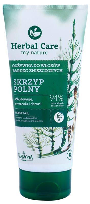 Farmona Herbal Care Horsetail condicionador regenerador para cabelo danificado