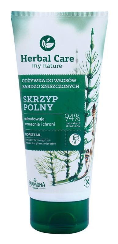 Farmona Herbal Care Horsetail regenerierender Conditioner für beschädigtes Haar