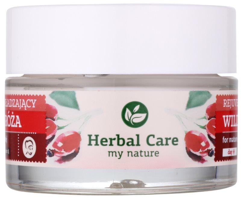 Farmona Herbal Care Wild Rose feszesítő krém ránctalanító hatással