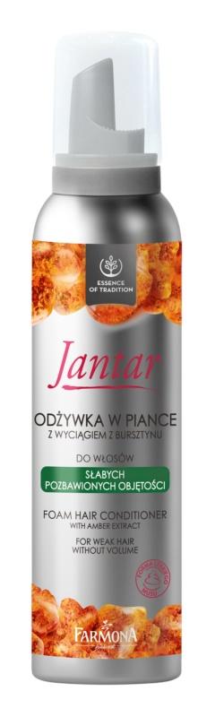 Farmona Jantar balsam spumă pentru par fara volum