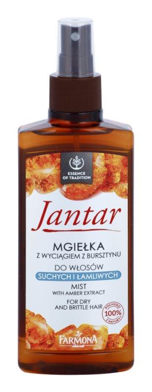 Farmona Jantar Spray regenerator pentru par uscat si fragil