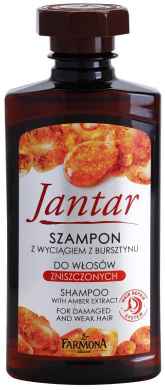 Farmona Jantar szampon do włosów osłabionych i zniszczonych
