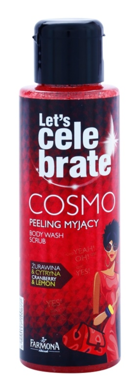Farmona Let's Celebrate Cosmo peeling tusfürdő