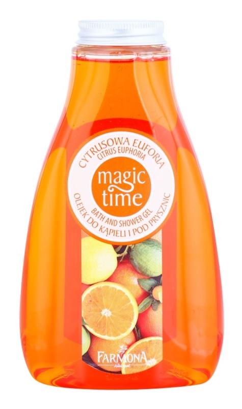Farmona Magic Time Citrus Euphoria sprchový a koupelový gel s vyživujícím účinkem