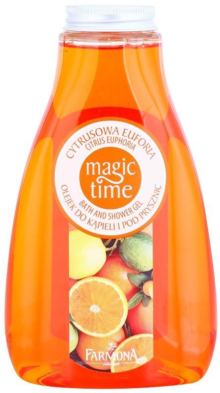 Farmona Magic Time Citrus Euphoria гель для душа та ванни з поживною ефекту