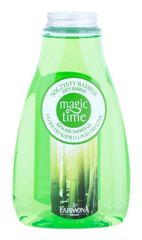 Farmona Magic Time Juicy Bamboo Dusch- und Badgel mit nahrhaften Effekt