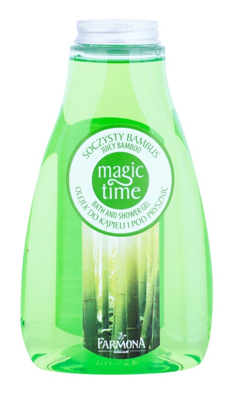 Farmona Magic Time Juicy Bamboo gel de dus si baie cu efect de nutritiv
