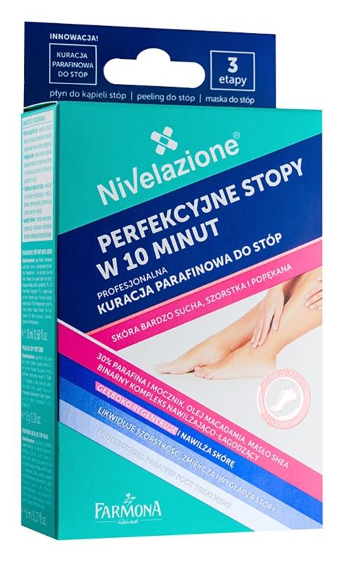 Farmona Nivelazione tratamiento de parafina para pies para pieles muy secas
