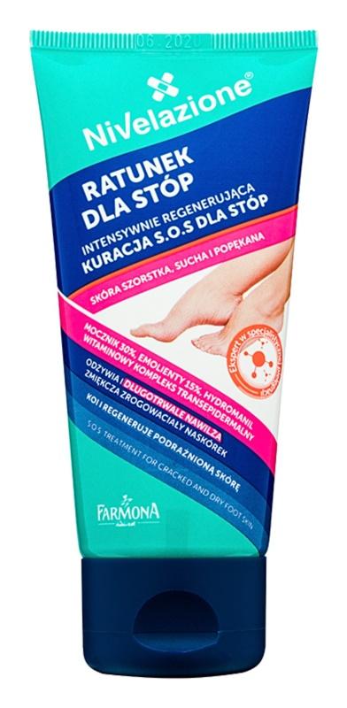 Farmona Nivelazione SOS krém na veľmi suchú a poškodenú pokožku chodidiel