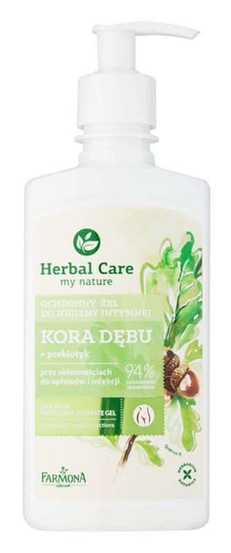 Farmona Herbal Care Oak Bark ochranný gel na intimní hygienu