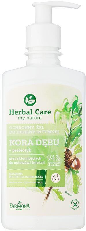 Farmona Herbal Care Oak Bark zaščitni gel za intimno higieno