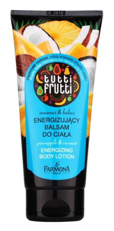 Farmona Tutti Frutti Pineapple & Coconut energizujúce telové mlieko