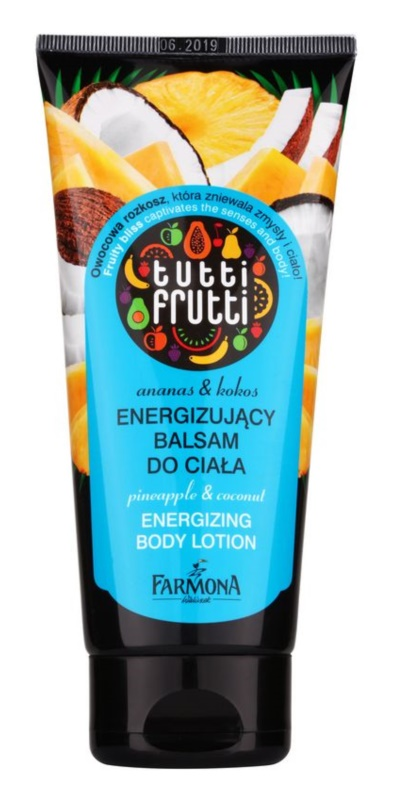 Farmona Tutti Frutti Pineapple & Coconut poživitveno mleko za telo