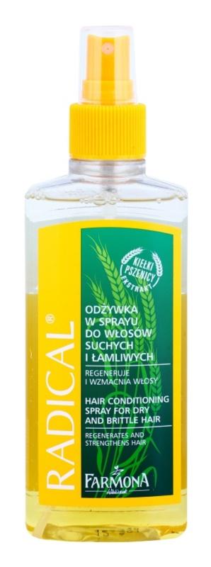 Farmona Radical Dry & Brittle Hair kondicionér ve spreji s regeneračním účinkem