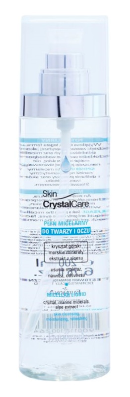 Farmona Crystal Care agua micelar limpiadora para rostro y ojos