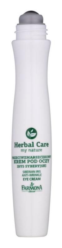 Farmona Herbal Care Siberian Iris creme de olhos antirrugas roll-on
