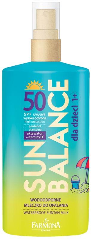Farmona Sun Balance Beschermende Zonnebrandmelk voor Kinderen  SPF50
